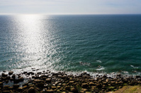 English Channel coastline Cote d opale
