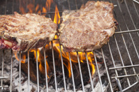 Grill the steak