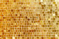 mosaic at monastery entrance with shining gold decorated  Kykkos