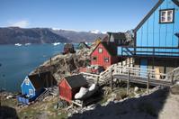 Arctic modern village
