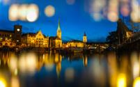 Cityscape of Zurich, Switzerland