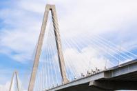 Arthur Ravenel Jr Bridge over Cooper River in Charleston
