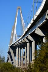 Cooper River Bridge in Charleston, South Carolina