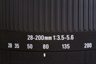 Zoom lens detail