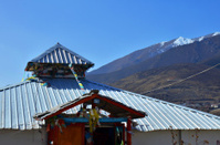 Tibetan Building Exterior