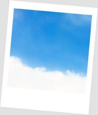sky in  frame Polaroid