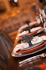 Autumn Dinner Party Plates
