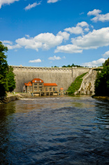 Pilichowice Dam in poland