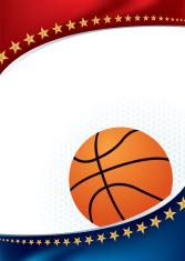 Basketball All-Star Background