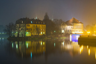 Wroclaw in the night, Poland