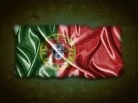 Vintage Portugal flag.