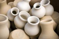 pots before firing