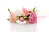 Bridal wrist flower