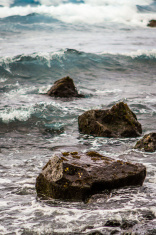 Wet Rocks in Hawaiian Waters