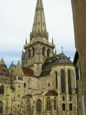 st Lazare Cathedral Autun Burgundy France