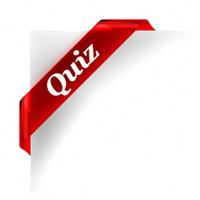 Quiz Red Banner
