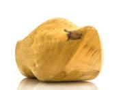 natural wooden clog