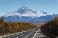 Road to the Avacha Volcano