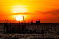 Sunset beyond the Sea