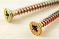 Macro photo of screws