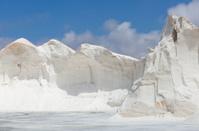 Mountain of sea salt