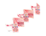 Growth of the Renminbi