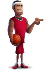 Basketball: Pointing