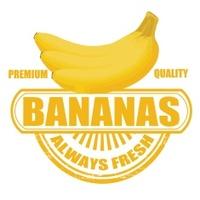 Bananas stamp