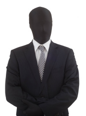 anonymous business man - anonymer Businessmann
