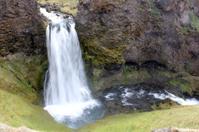 Waterfall, southern Iceland