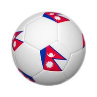 Nepali  soccer ball