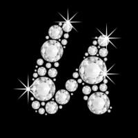 U Alphabet In Diamond Alphabet In Diamond Capital diamonds letter u of the alphabet stock ...