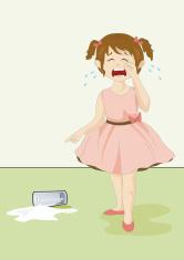 über vergossene Milch soll man nicht weinen