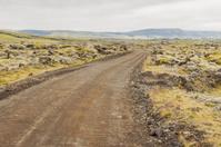 Gravel route to Landmannalaugar - Iceland.