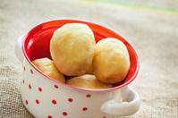 Pealed potatoes