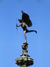 The angel of Trafalgar