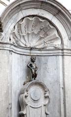 Manneken Pis - famous statue in Brussels