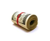 Layer Hundred Dollars