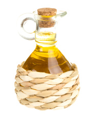 Bottle of sunflower oil