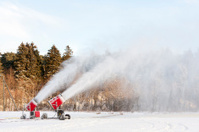 Snow blowing machines