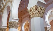 Toledo - Caital from Synagogue Santa Maria la Blanca.