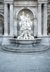 Neptune Fountain at Albertina, Vienna