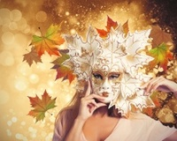 Carnival fashion autumn woman