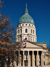 Kansas Capitol south face