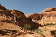 Hiker in Utah
