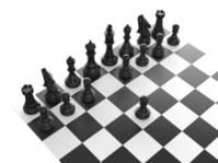 Black Chess Set