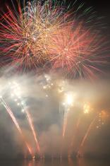 Big fireworks blast