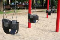 Swing Set at a Toronto Playground