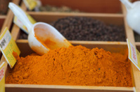 Curcuma and other spices