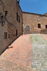 Medieval corner in Certaldo, Tuscany